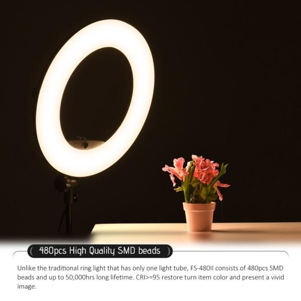 Кольцевая лампа OKIRA LED RING FS 480