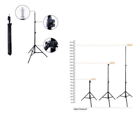 Штатив 2 метра. Для всех моделей ламп.