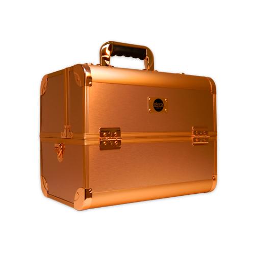 Бьюти кейс для косметики CWB 6350 розовое золото